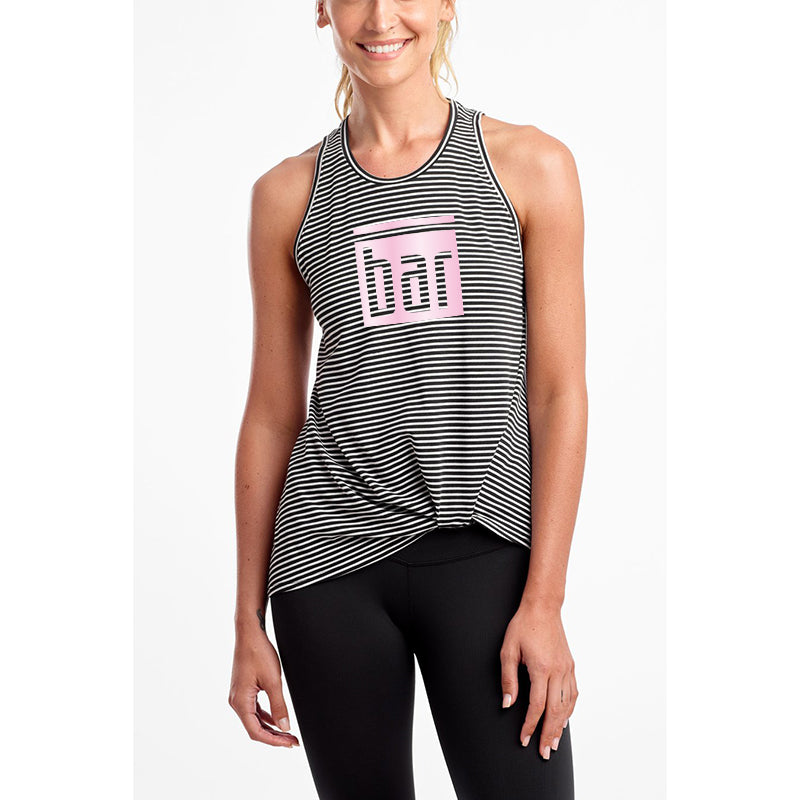 Bar Method x DYI Knot So Fast Tank (Stripe)
