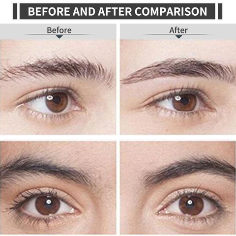 Eyebrow Trimmer Before and After Results