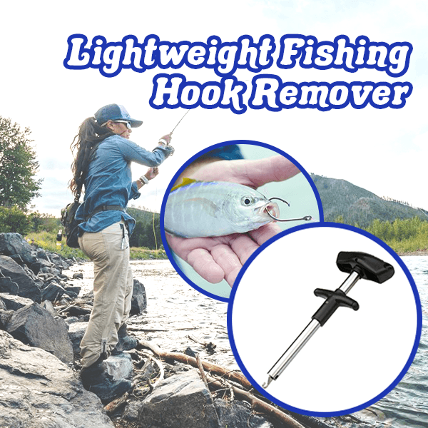 Lightweight Fishing Hook Remover
