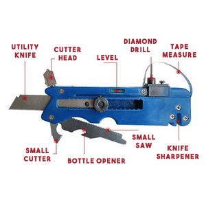 Multifunction Glass & Tile Cutter