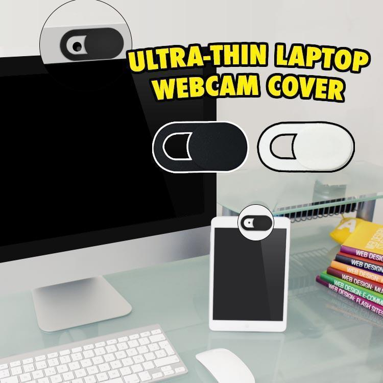 Ultra-thin Laptop Webcam Cover (3 pcs)