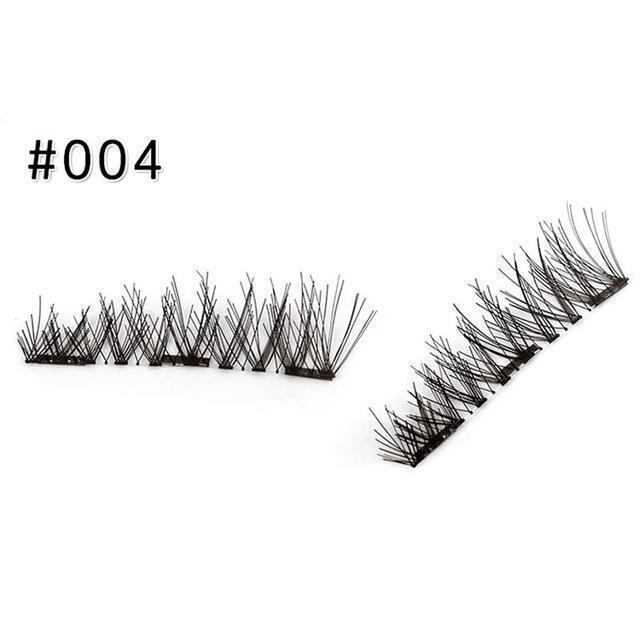 3D Magnetic Eyelashes Set (4PCS) - Clevativity