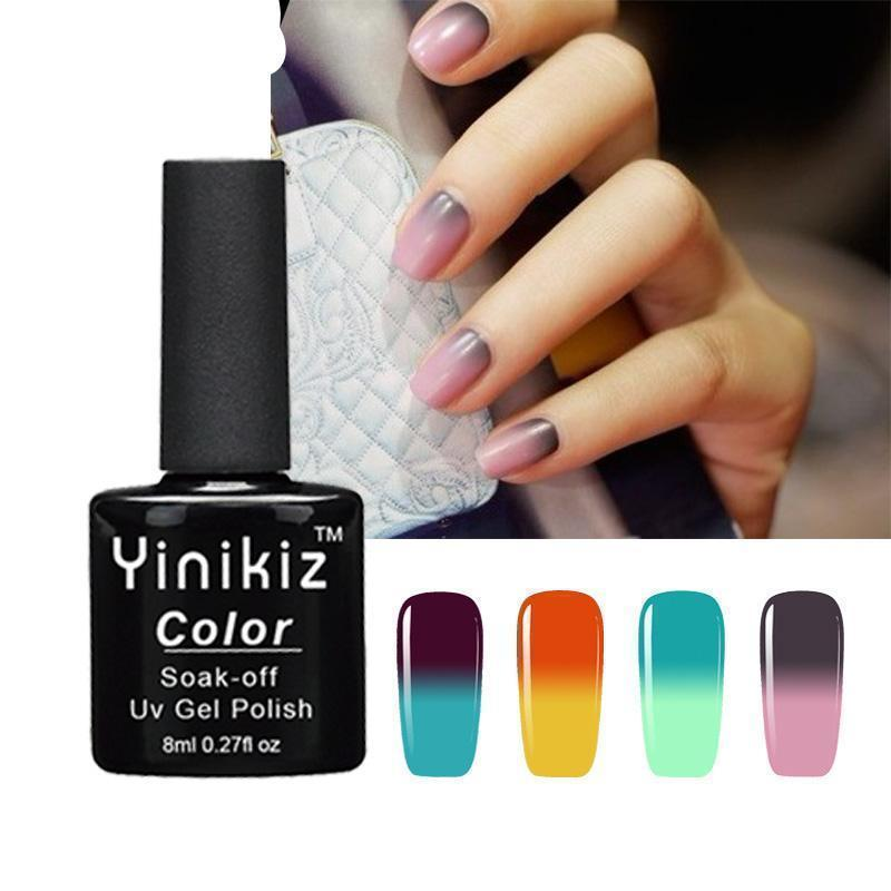 Color Changing Nail Gel Polish - Clevativity