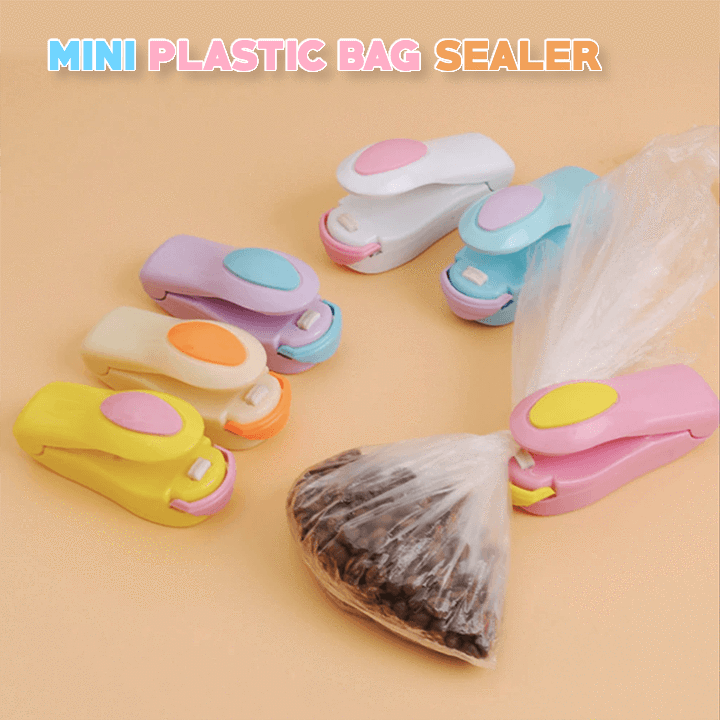 Portable Mini Plastic Bag Sealer