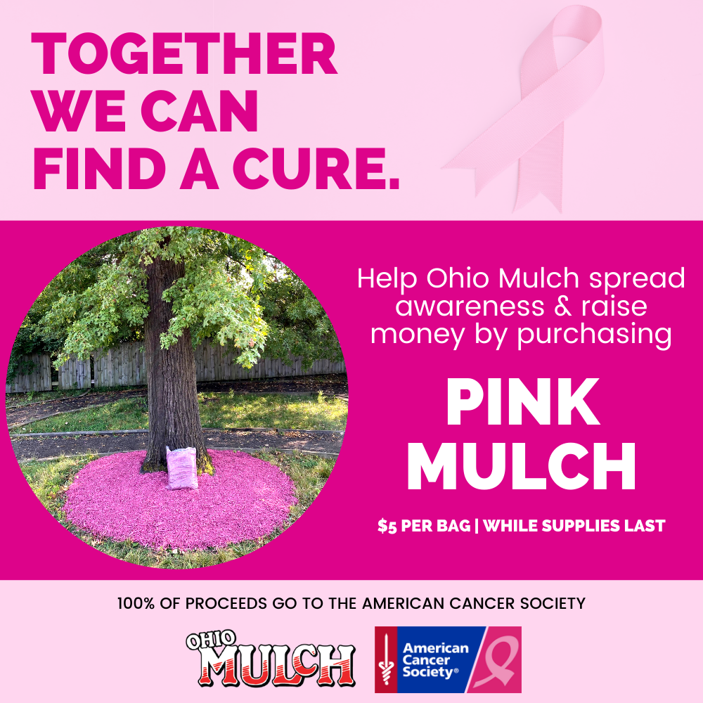 Ohio Mulch Sells Pink Mulch to Raise Money for Breast Cancer