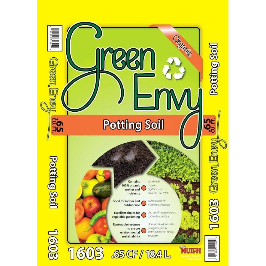 Green Envy Potting Mix (.65cf) 1603