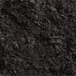 #1940PLUS (1 cu yd) Absolute Black Ultra Mulch, bulk + COMTIL