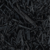 #1950 (1 cu yd) Absolute Black Shredded Mulch, bulk