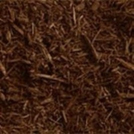 (1 cu yd) Absolute Brown Quad Shredded Mulch, bulk #1980q