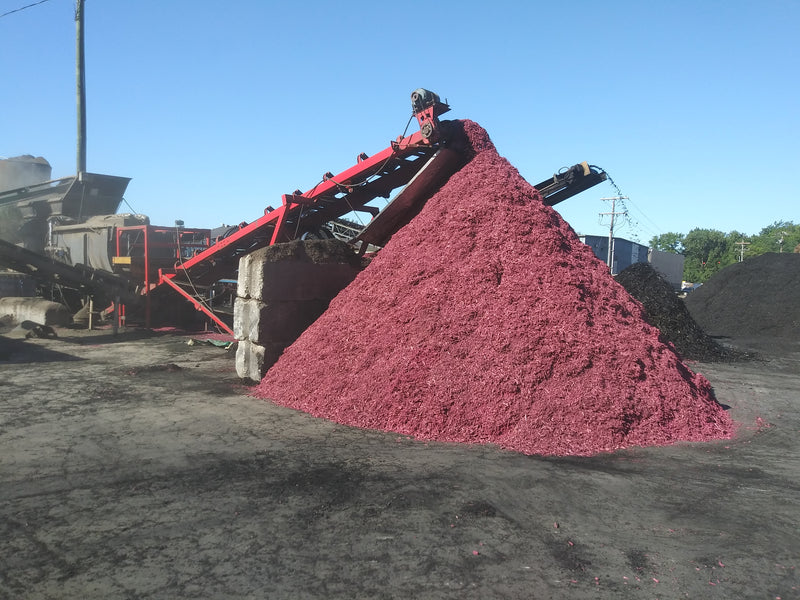 Pink Mulch 1 cubic foot