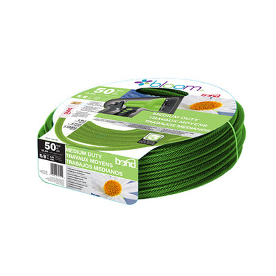 "Bloom 5/8"" 50ft Medium Duty Hose"