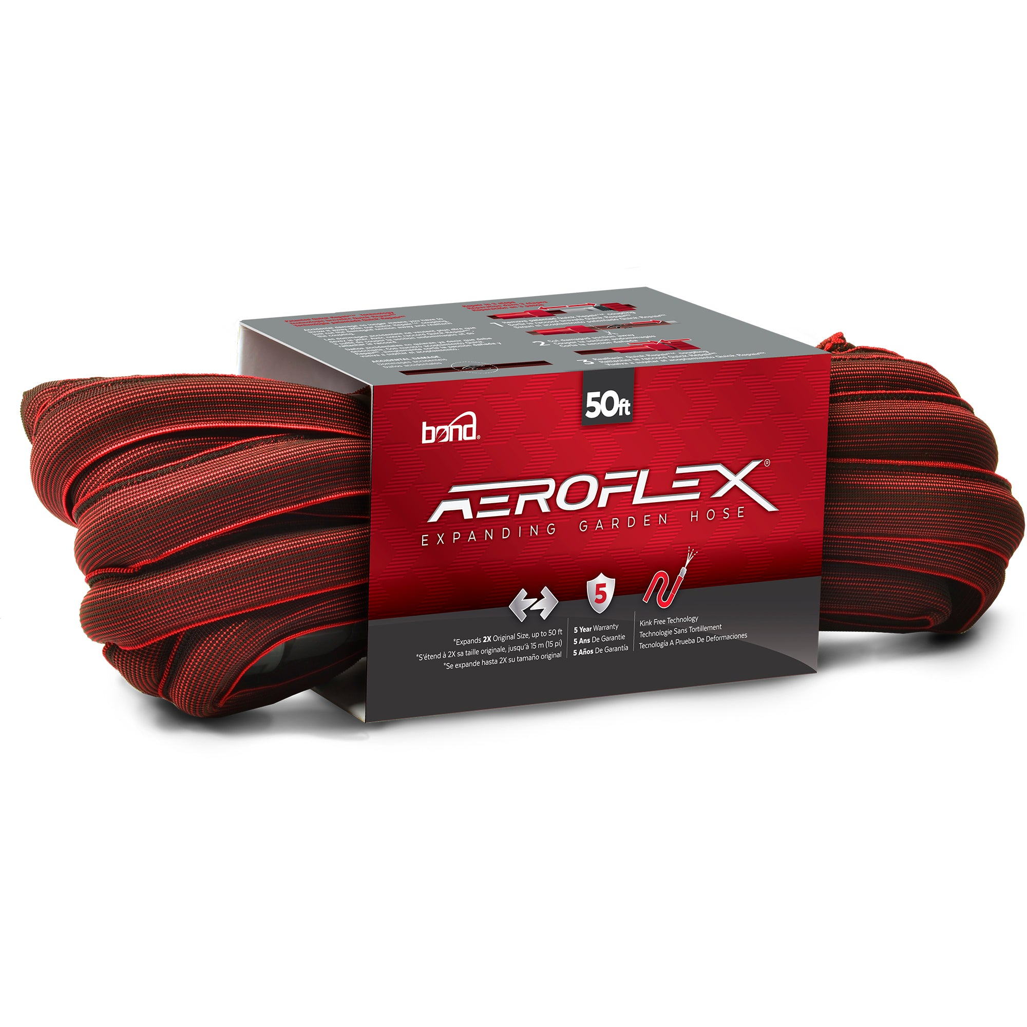#8200 - Bond 50ft Aeroflex Stretch Fabric Hose