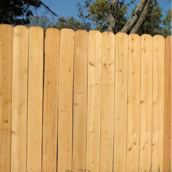 "6' x 5.5"" Cedar Fence Pickets #7916"