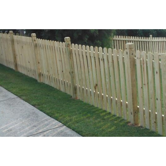"4' x 4"" Cedar Fence Pickets #7919"