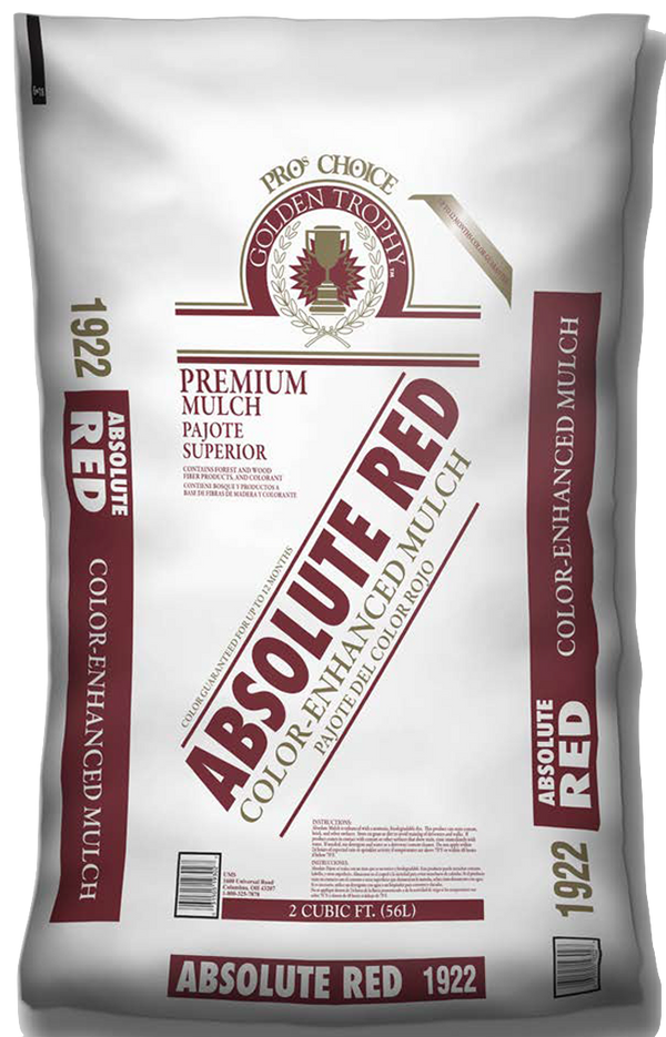 #1922 - Absolute Red Shredded Mulch (2 CF)