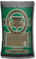 #1942 - Absolute Black Fine Mulch (1.5 CF)
