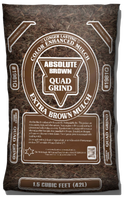 #1981Q - Absolute Brown Extra Fine Mulch (1.5 CF)