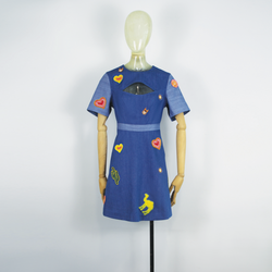 Embroidery Badge Dress