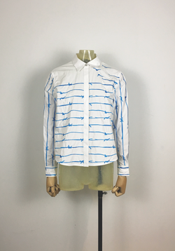 Wire Embriodery Shirt