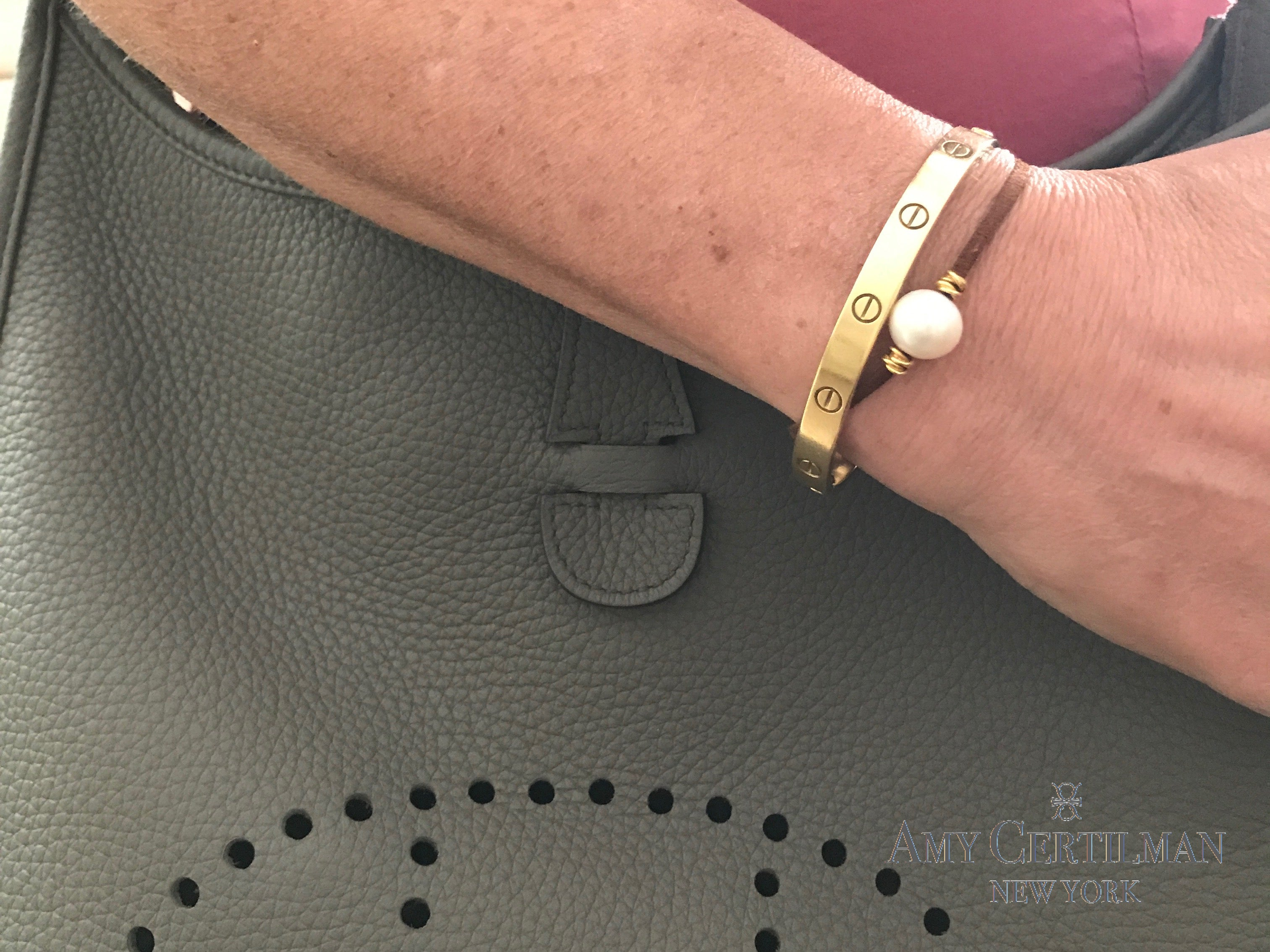 How To Stack In Style With A Cartier Love Bracelet The Perfect Setting
