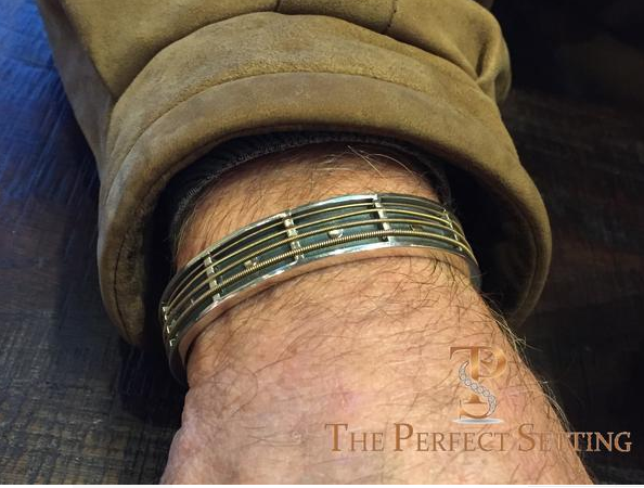 Custom Guitar String Cuff Bracelet Jimmy Buffett