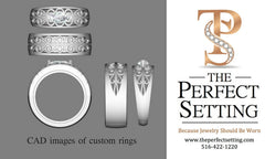 CAD Image of New Scroll Ring