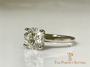 1.70 ct diamond solitaire engagement ring
