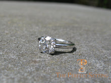 Load image into Gallery viewer, GIA Certified Diamond Engagement Ring