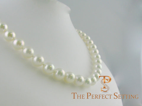 Akoya pearls from grandma