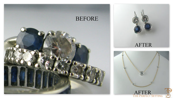 Diamond And Gold Necklace Bezel Set The Perfect Setting