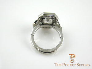 Diamond Ring with Finger Fit ® Adjustable Band