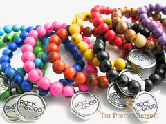 Fundraiser Bead Bracelets - I Am Worth More Rock My Good