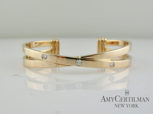 criss cross cartier love bracelet with diamonds certilman