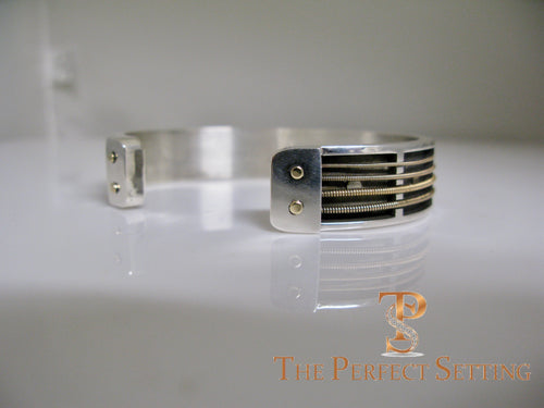 jimmy buffett guitar string cuff bracelet custom