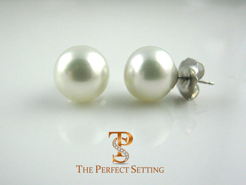 South Sea Cultured Pearl 12mm Earring Stud