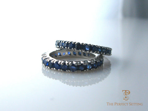 Sapphire Eternity Bands
