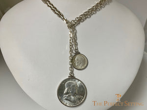 Coin Necklace for 60th Birthday