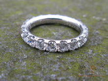 Load image into Gallery viewer, Diamond Eternity Wedding Band