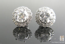 Load image into Gallery viewer, Diamond Earring Jackets with Diamond Studs
