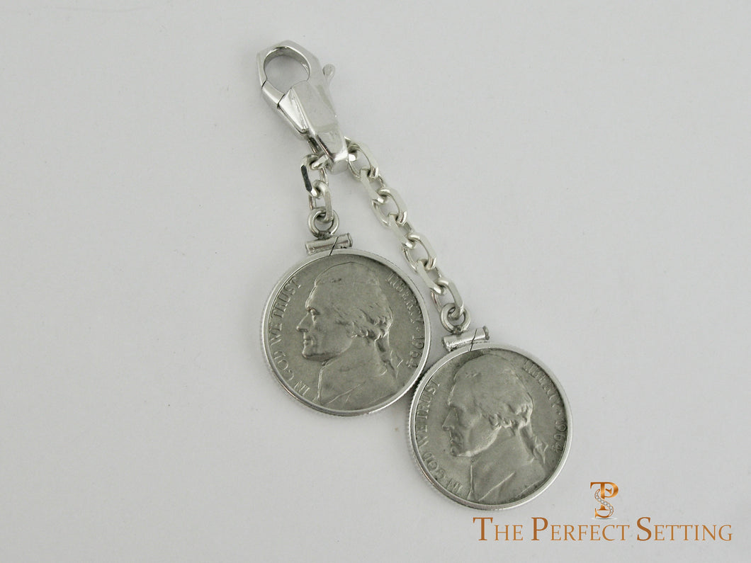 Double Nickels Key Ring 1964