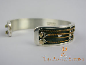 Guitar String Sterling Cuff Bracelet Jewelry Eric Clapton