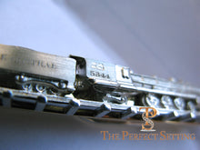Load image into Gallery viewer, NY Central Train #5344 tie bar platinum and gold