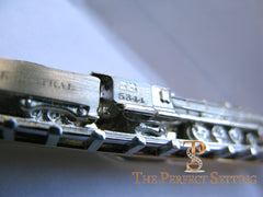 NY Central Train #5344 tie bar platinum and gold