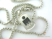 Load image into Gallery viewer, Iron Man Sterling Silver necklace