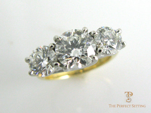 3 Stone Diamond Ring