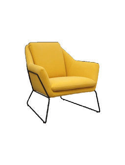 Booie and Ben. Furniture. Innes Chair *FREE DELIVERY Yellow1.