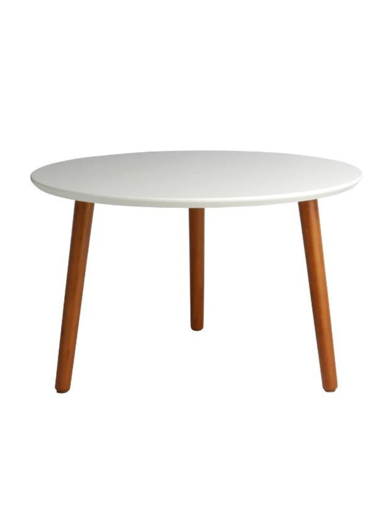 Booie and Ben. Furniture.Round Coffee Table *FREE SHIPPING White.