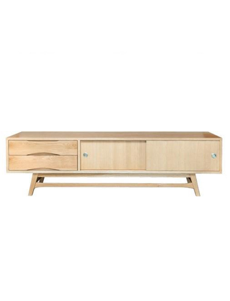 Booie and Ben. Furniture. Peggy Entertainment Unit *FREE DELIVERY. Natural.