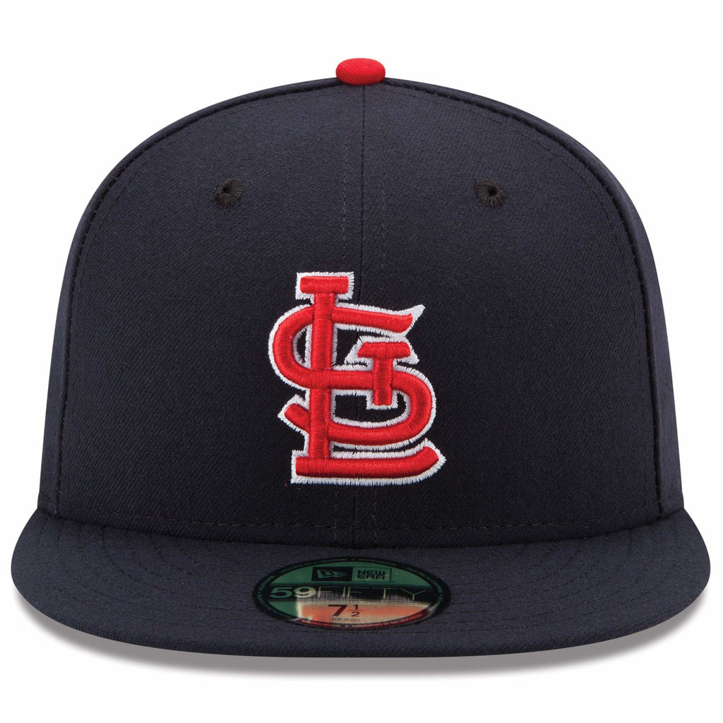 a66f27a663e31 St. Louis Cardenales New Era Alternate Authentic 59FIFTY- Navy ...