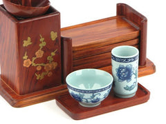 Celadon Smell Cup Set